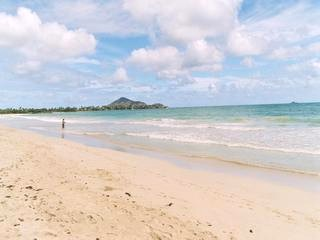 Kailua Beach right off of Hale Honu rental