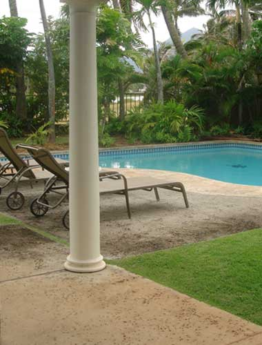 Swimming Pool at Kailua Vacation Rental